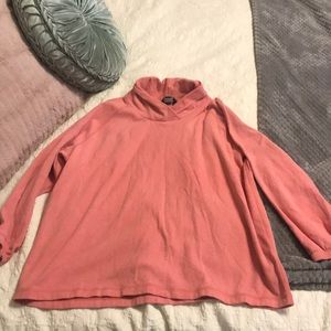 Coral Pullover Lands' End XL